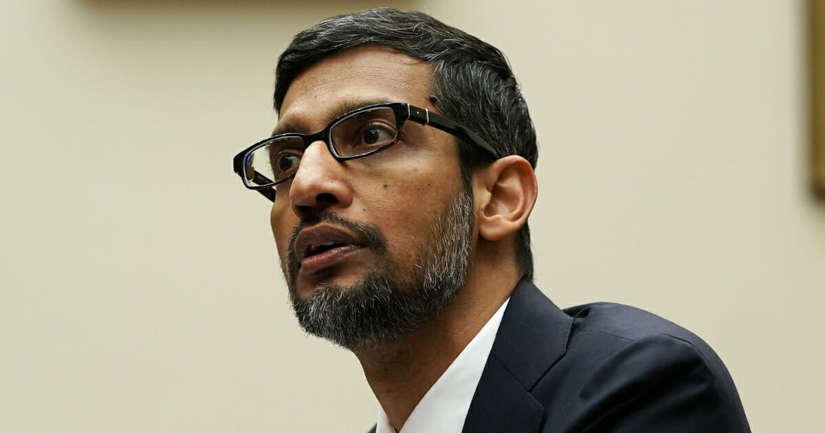 Google CEO Sundar Pichai testifies before the House Judiciary Committee at the Rayburn House Office Building on Dec. 11, 2018, in Washington, D.C.