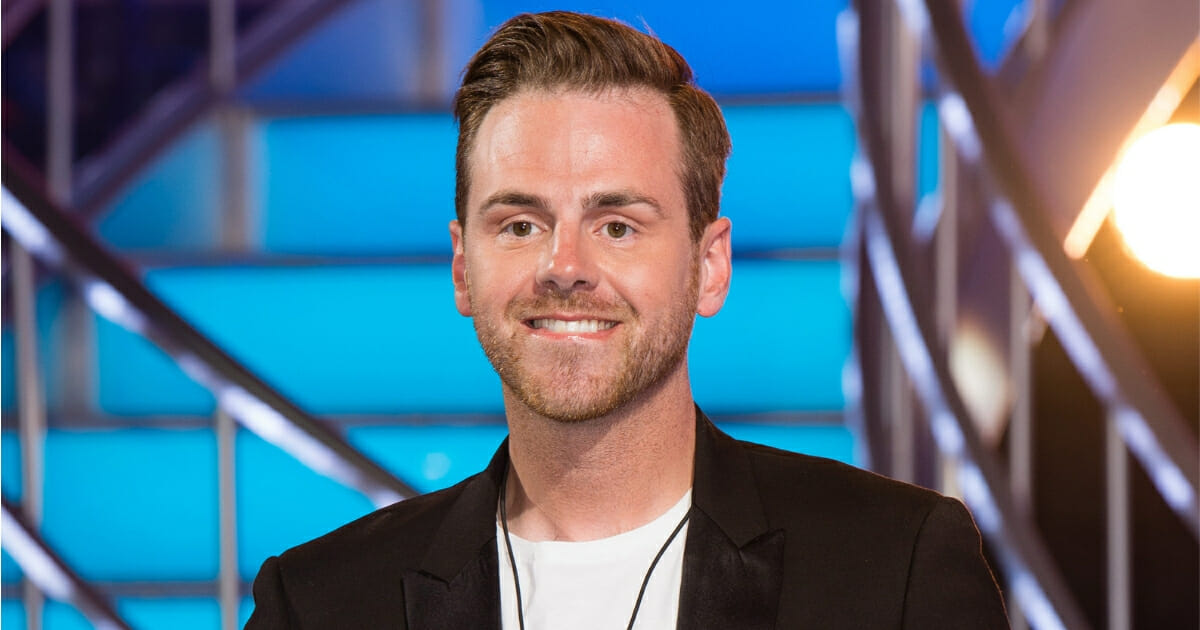 British reality show contestant Andy West in a 2016 file photo.