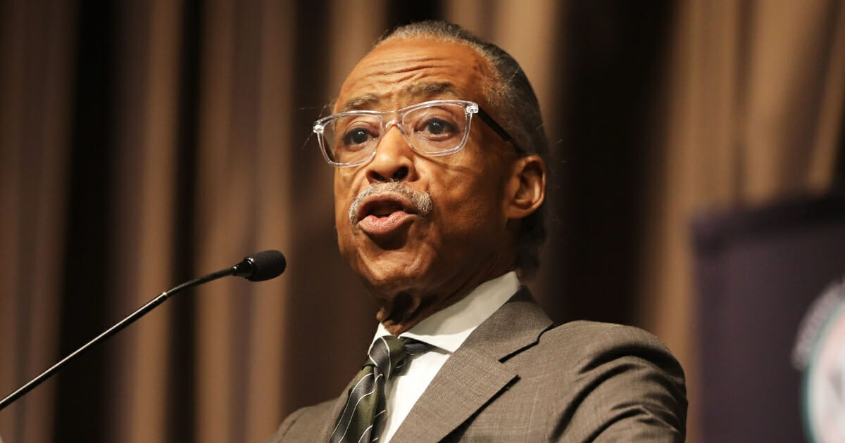 Rev. Al Sharpton speaks at the National Action Network's annual convention on April 4, 2019 in New York City.
