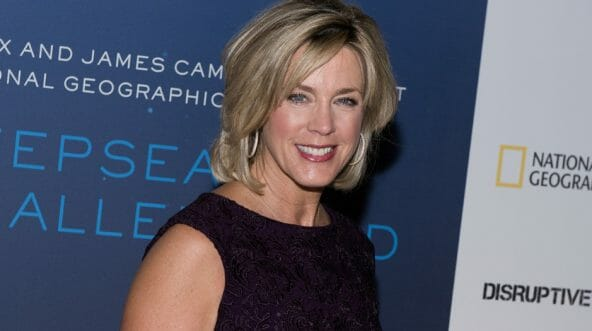 Deborah Norville arrives at the 'Deepsea Challenge 3D' New York Premiere at the American Museum of Natural History on Aug. 4, 2014, in New York City.