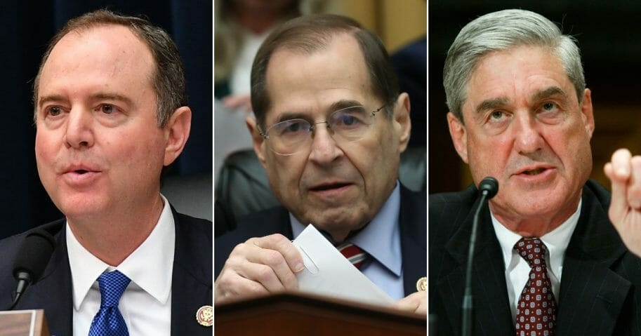 California Democratic Rep Adam Schiff; New York Democratic Rep. Adam Schiff; Robert Mueller