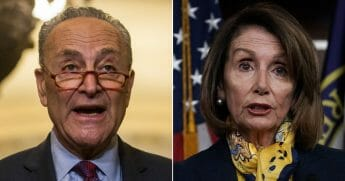 U.S. Speaker of the House Rep. Nancy Pelosi / Senate Minority Leader Chuck Schumer