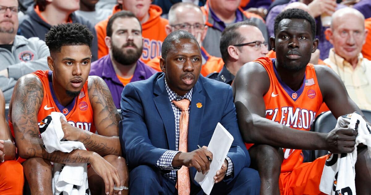Former Clemson assistant basketball coach Steve Smith.