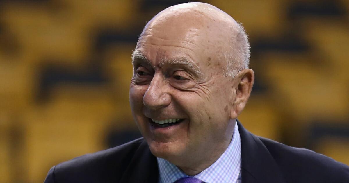 Longtime basketball analyst Dick Vitale.
