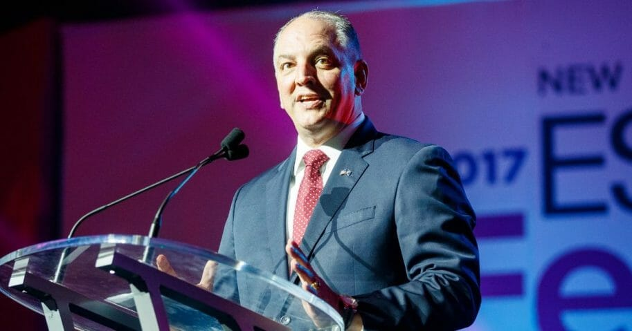 Louisiana Governor John Bel Edwards speaks at the 2017 ESSENCE Festival on June 30, 2017, in New Orleans.