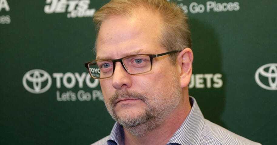 Former New York Jets general manager Mike Maccagnan.
