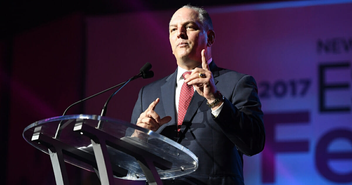 Louisiana Gov. John Bel Edwards speaks onstage at the 2017 ESSENCE Festival presented by Coca-Cola at the Ernest N. Morial Convention Center on June 30, 2017 in New Orleans, Louisiana.