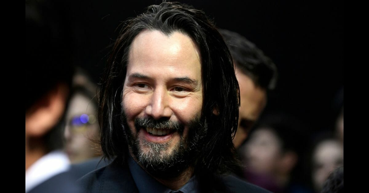 """Keanu Reeves attends the special screening of Lionsgate's """"John Wick: Chapter 3 - Parabellum"""" at TCL Chinese Theatre on May 15, 2019, in Hollywood, California."""