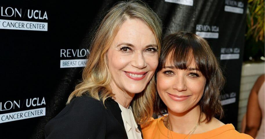 Lipton and her daughter Rashida Jones