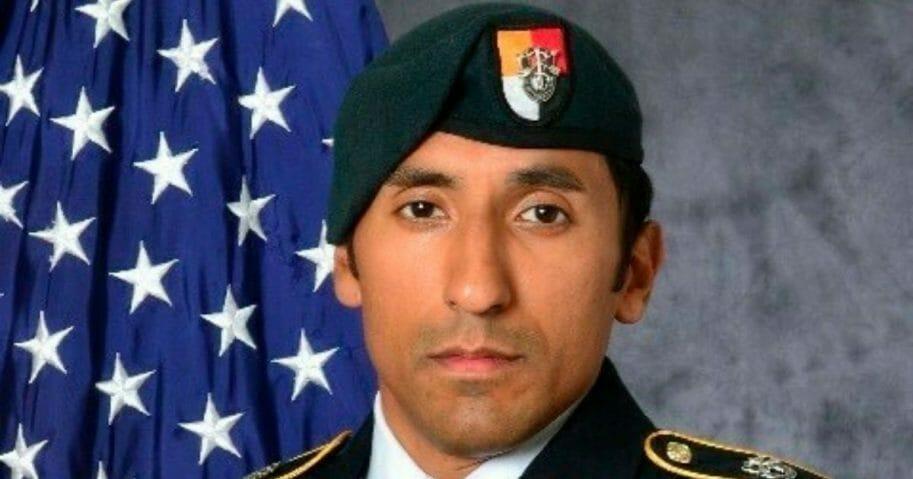U.S. Army Staff Sgt. Logan Melgar, who died in Mali in June 2017.