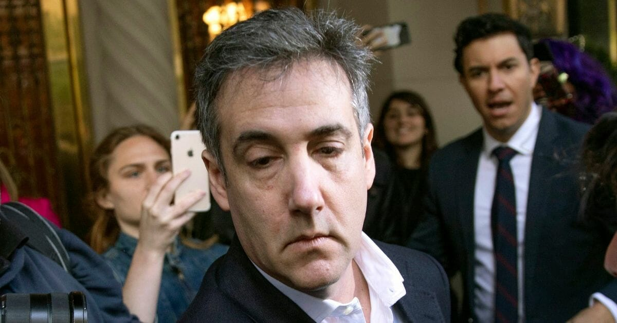 Michael Cohen, former attorney to President Donald Trump, leaves his apartment May 6, 2019, before beginning his prison term in New York.