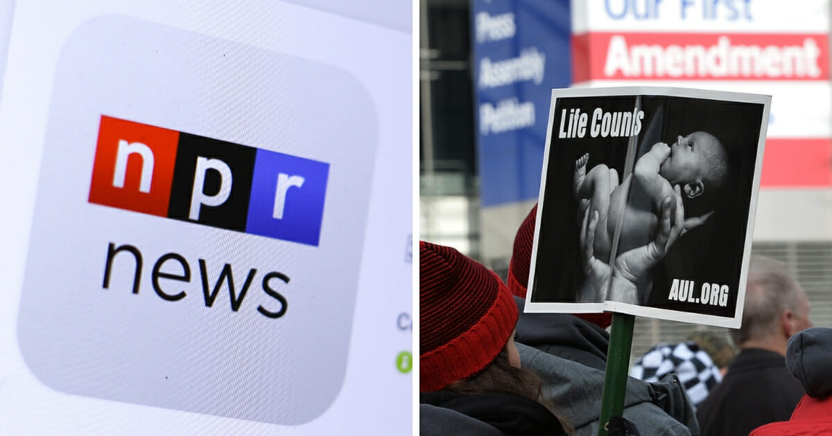 As abortion legislation has been much in the news of late, NPR decided to publish its in-house guidance for journalists regarding abortion terminology online. (Shutterstock.com / ANDREW CABALLERO-REYNOLDS / AFP / Getty Images)
