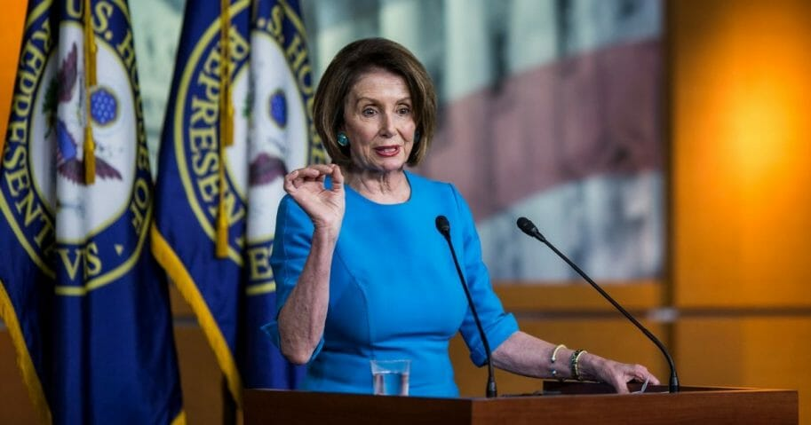 Nancy Pelosi speaking