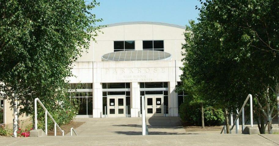 Parkrose High School in Portland, Oregon.