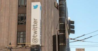 Twitter headquarters on Market Street in San Francisco.