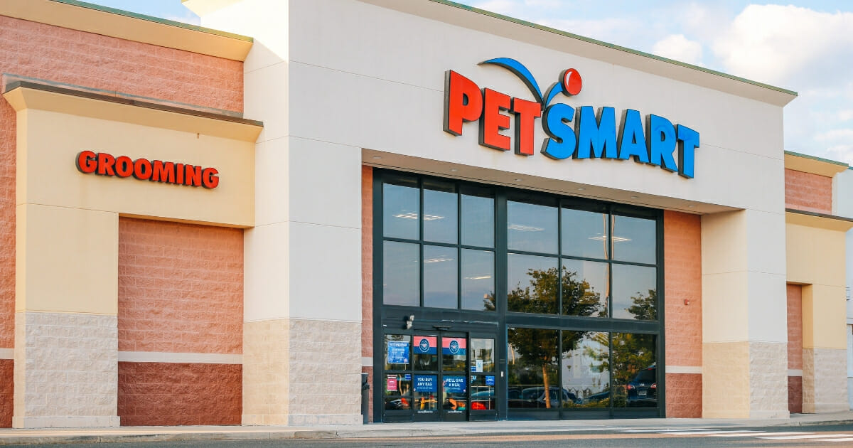 A PetSmart franchise in Philadelphia is pictured in a 2017 file photo.