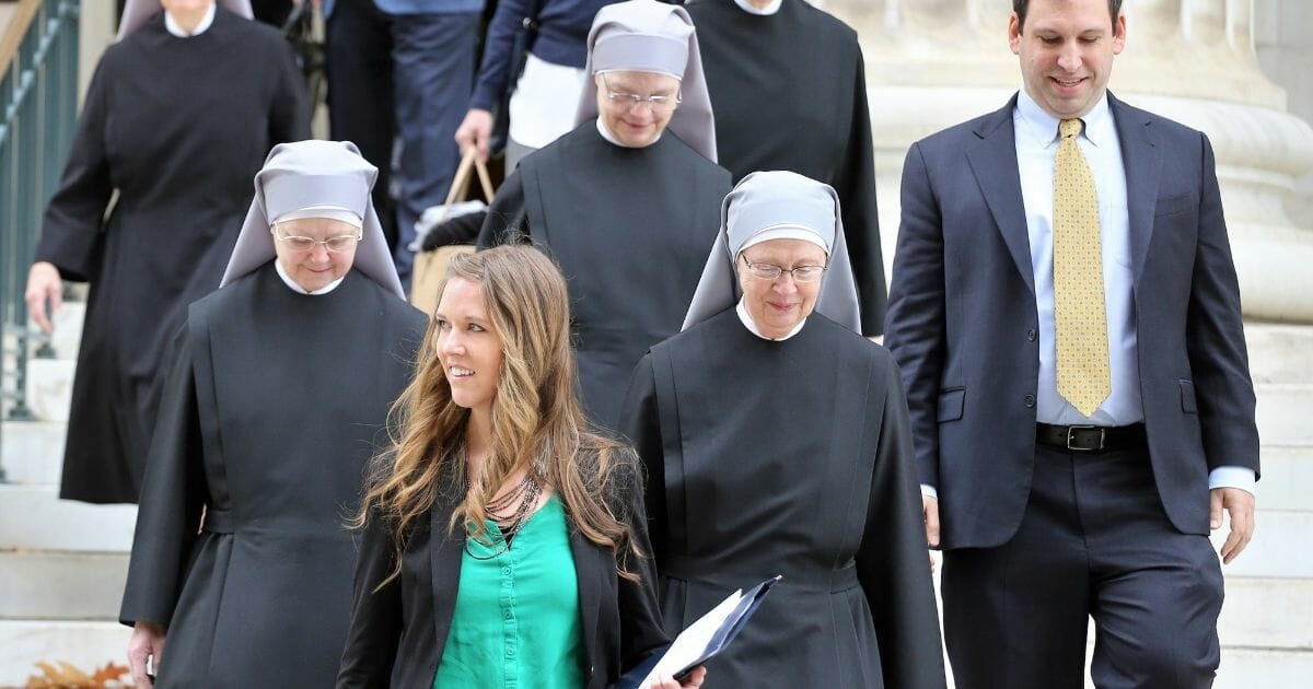 States Force Little Sisters of the Poor Back to Court over Obamacare Mandate