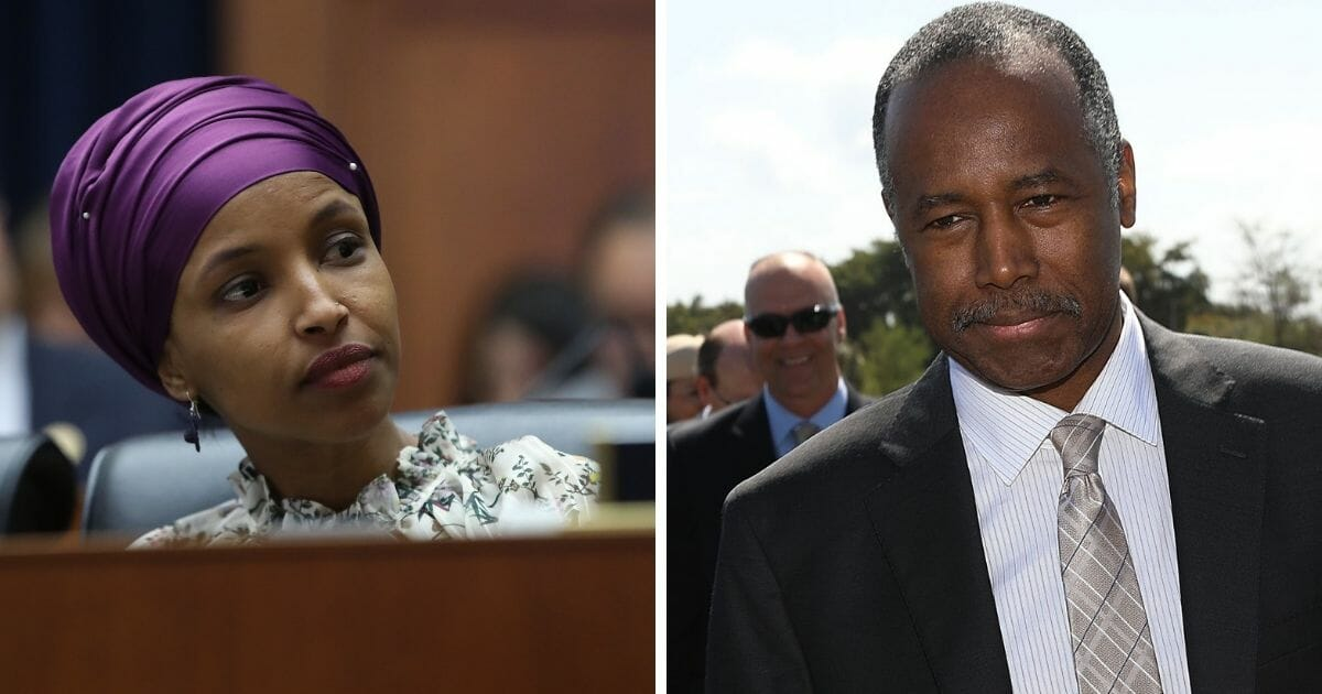 Ben Carson Responds to Ilhan Omar's Attack, Uses Her Abortion Claims Against Her