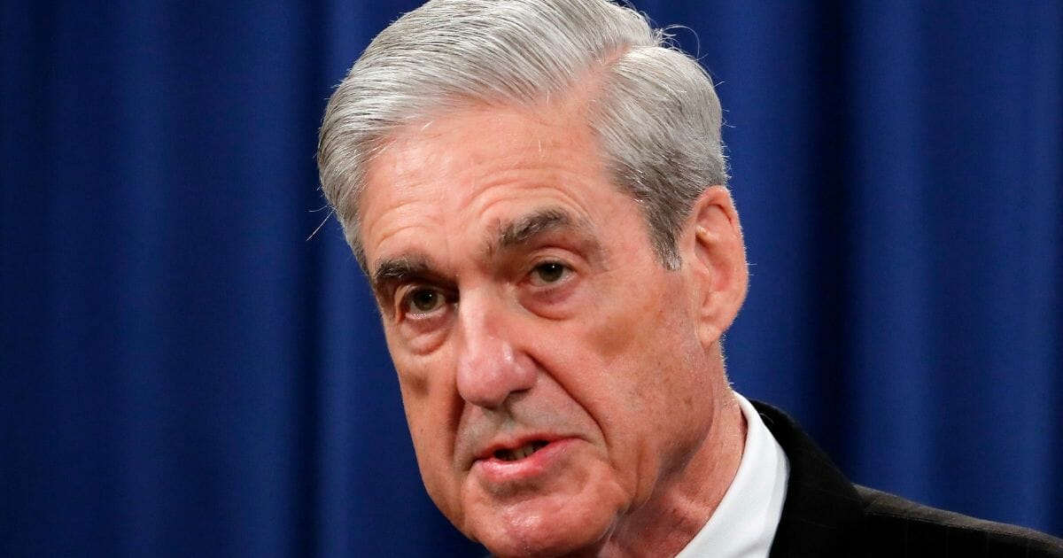 Special counsel Robert Muller speaks about the Russia investigation Wednesday, May 29, 2019, in Washington, D.C.