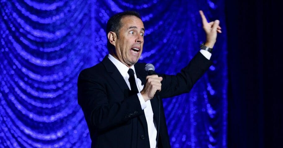 Jerry Seinfeld performs
