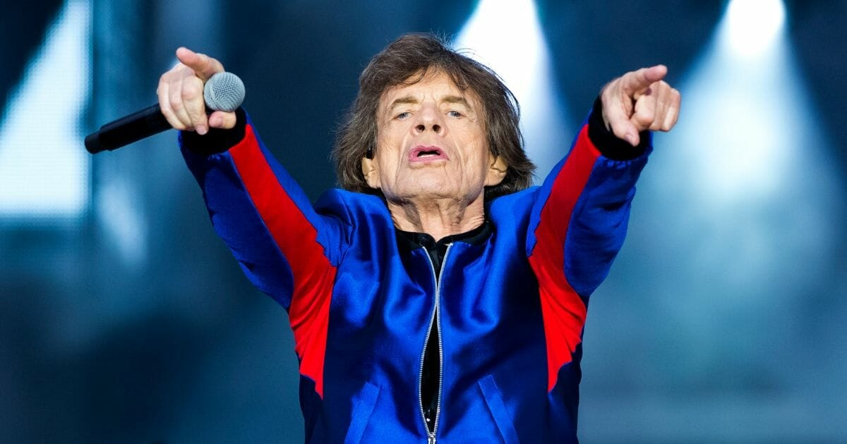 Mick Jagger of the Rolling Stones performs live on stage at St Mary's Stadium on May 29, 2018 in Southampton, England.