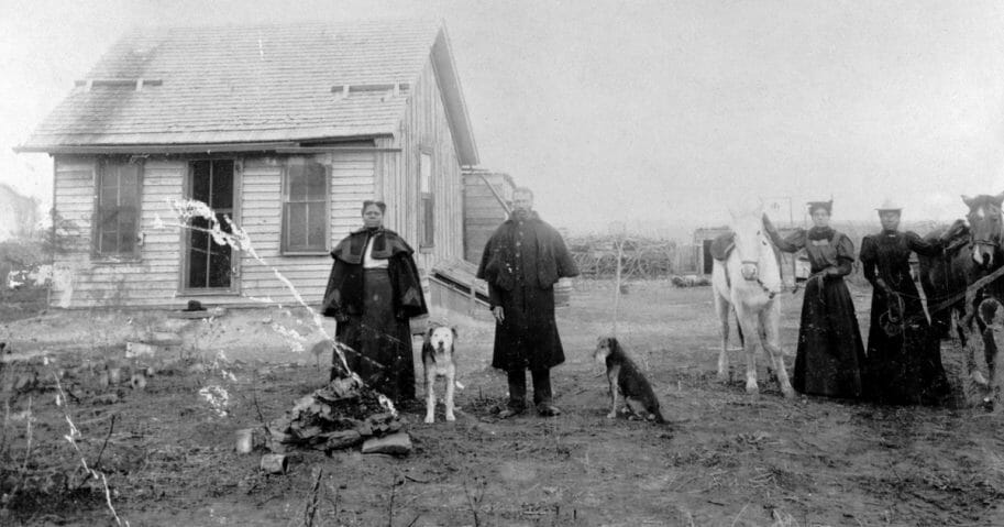 A colony of free African Americans homesteaders 1880-1890