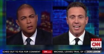 CNN's Don Lemon, left, and Chris Cuomo, right.