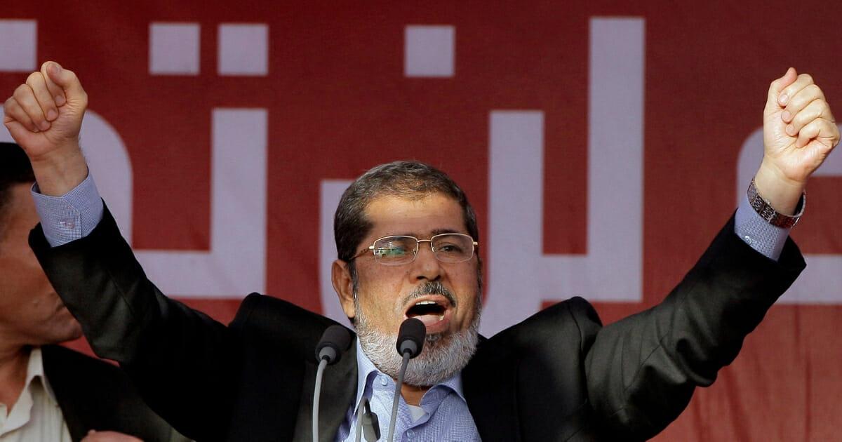 Former Egyptian President Mohammed Morsi.