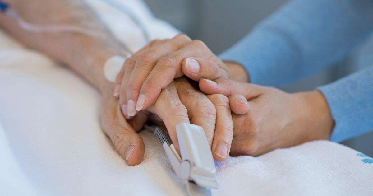 Elderly Hospital Hand