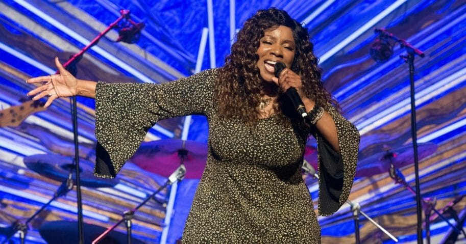 Gloria Gaynor performs at Sony Hall on April 25, 2019, in New York City.