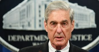Special counsel Robert Mueller speaks on the investigation into Russian interference in the 2016 presidential election at the U.S. Justice Department in Washington, D.C, on May 29, 2019. (Mandel Ngan / AFP / Getty Images)