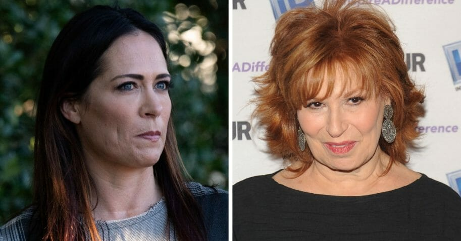 """Stephanie Grisham, left, who's set to take over as White House press secretary, is not afraid to take on Trump-haters in the media, like """"The View"""" co-host Joy Behar, right."""