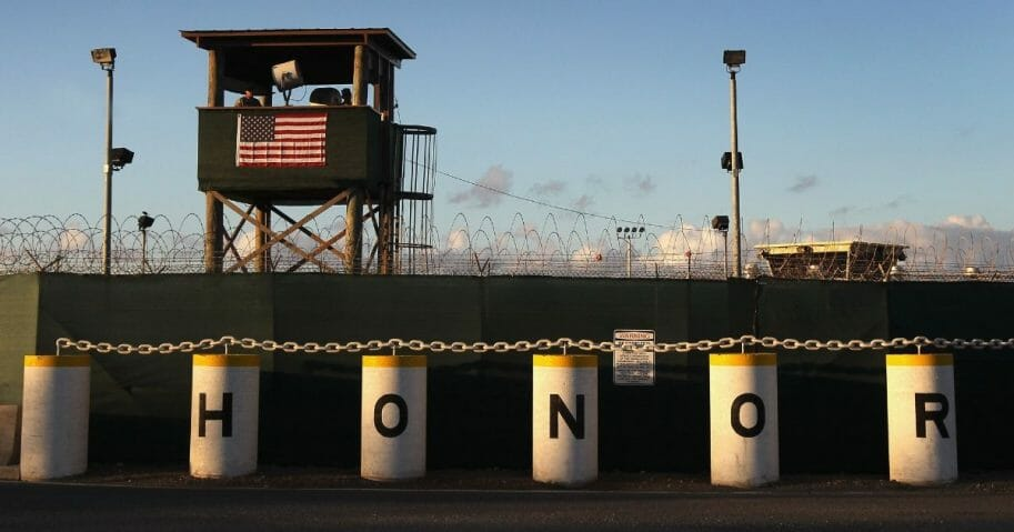 The prison at Guantanamo Bay, Cuba, in a 2010 file photo.