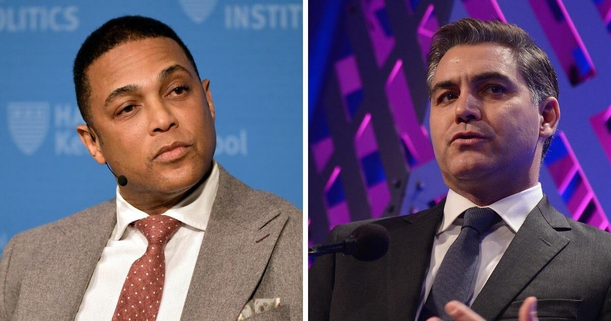 Watch: CNN's Lemon, Acosta Pat Themselves on Back as 'Defenders of the People'