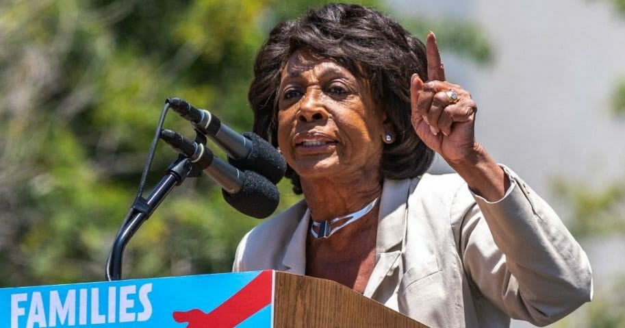 Maxine Waters speaks in a file photo from June 2018.