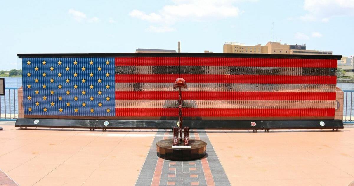 Fallen Heroes Memorial in Tampa, Florida