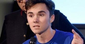 David Hogg at the Peace Week Town Hall in New York City
