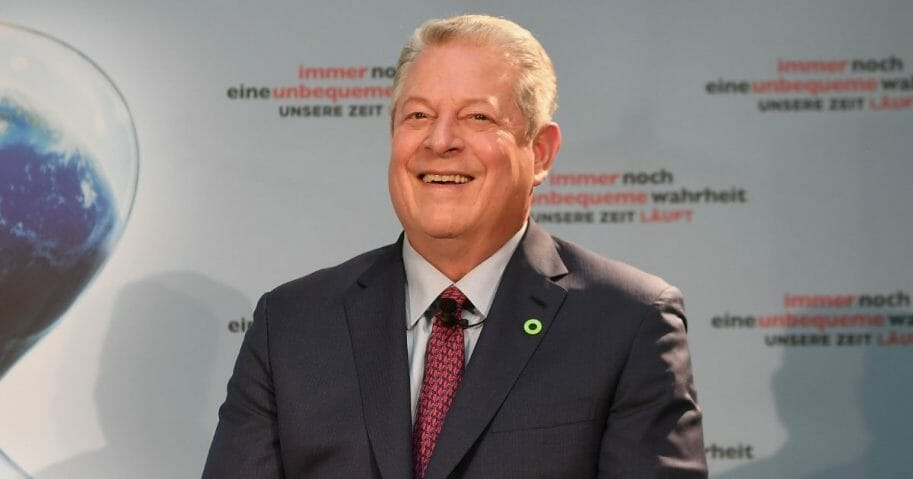 Former Vice President Al Gore attends a press conference for 'An Inconvenient Sequel: Truth to Power.'
