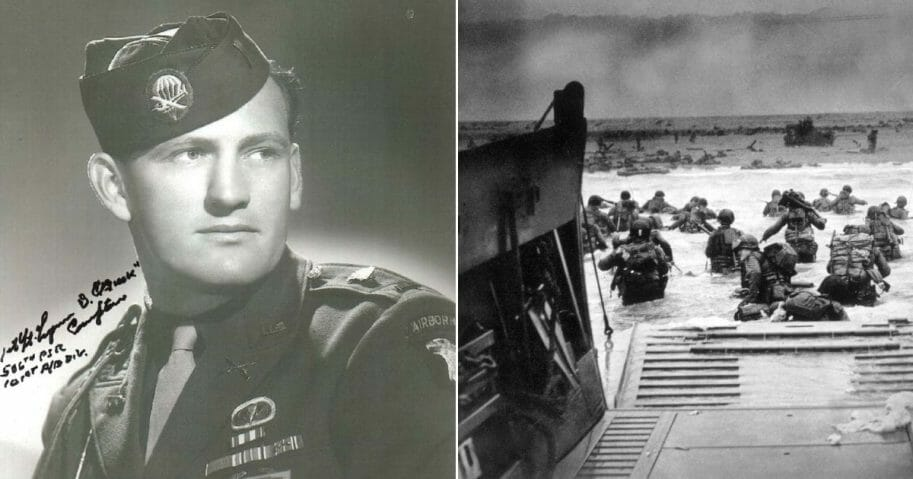 Lt. Buck Compton; D-Day invasion.