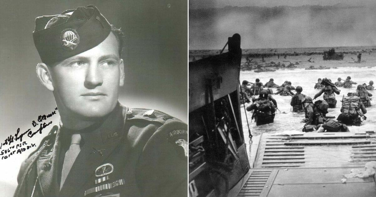Lt. Buck Compton; D-Day invasion.