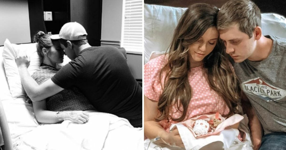 A couple grieves over their miscarriage