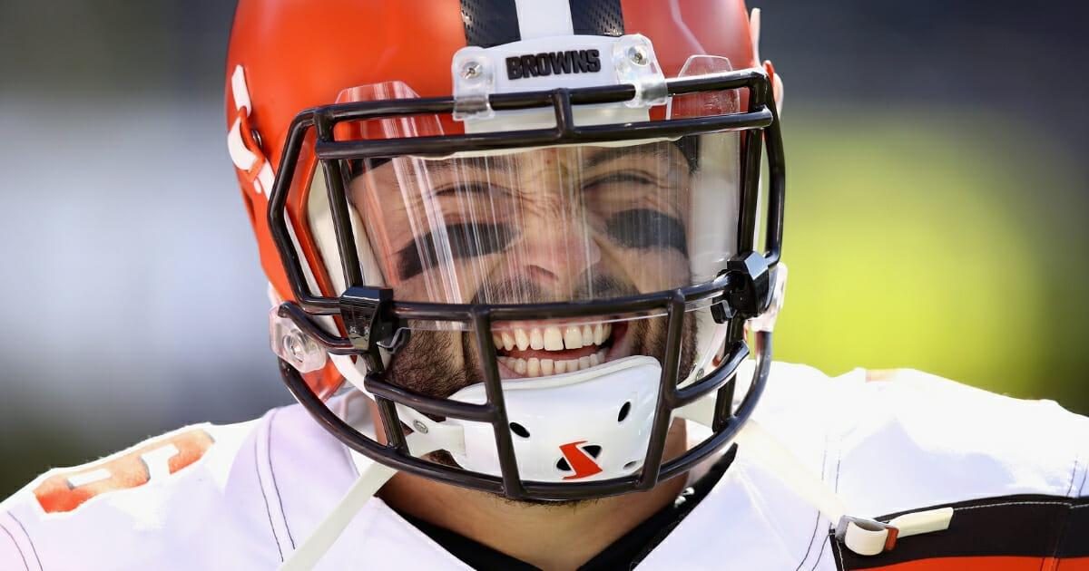Cleveland Browns quarterback Baker Mayfield.