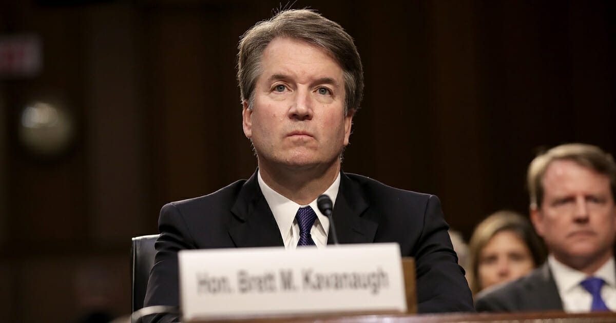 Bible Passage Kavanaugh Has Bookmarked in Office Tells You What Kind of Man He Really Is — Report