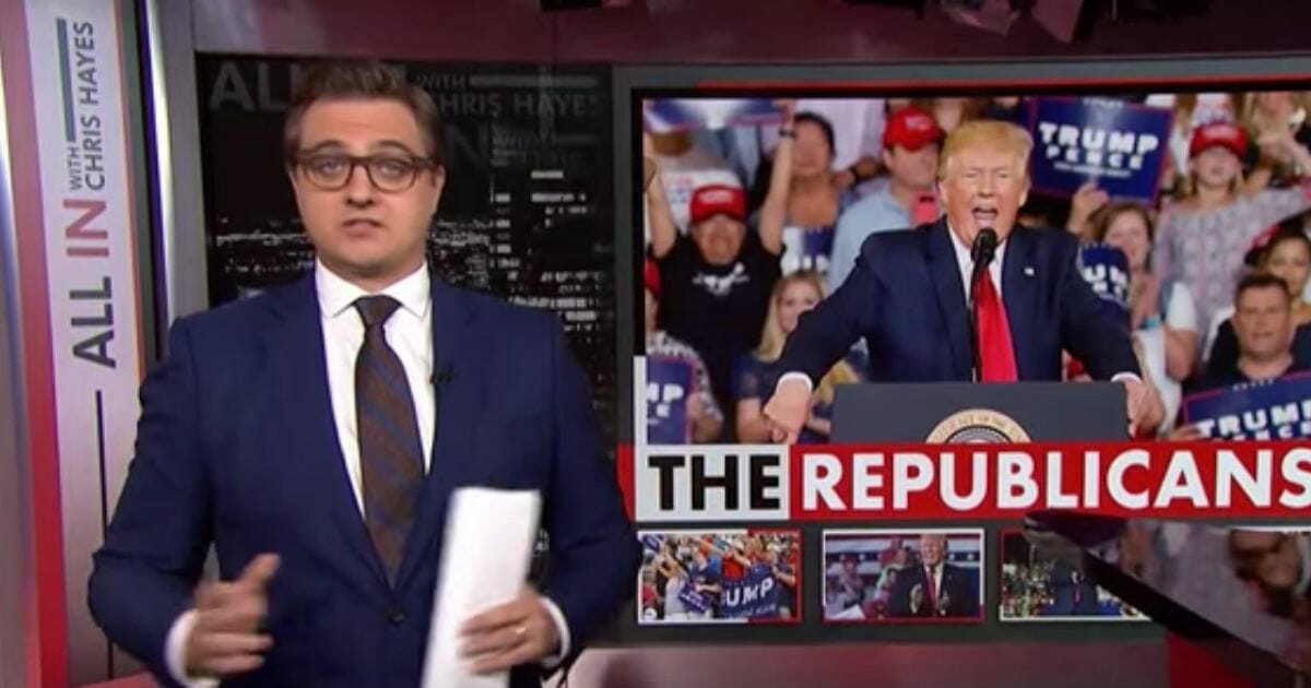 MSNBC's Chris Hayes Calls for the Spirit of Trump Supporters To Be 'Utterly Confronted and Destroyed'