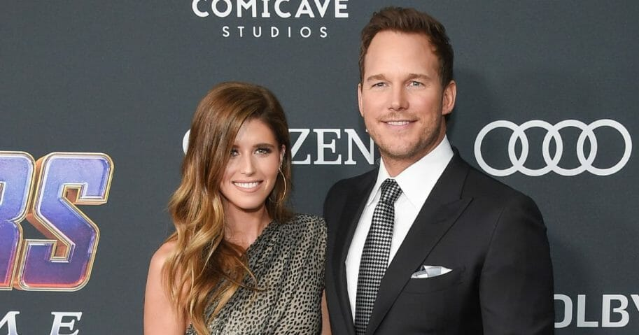 Katherine Schwarzenegger and Chris Pratt.