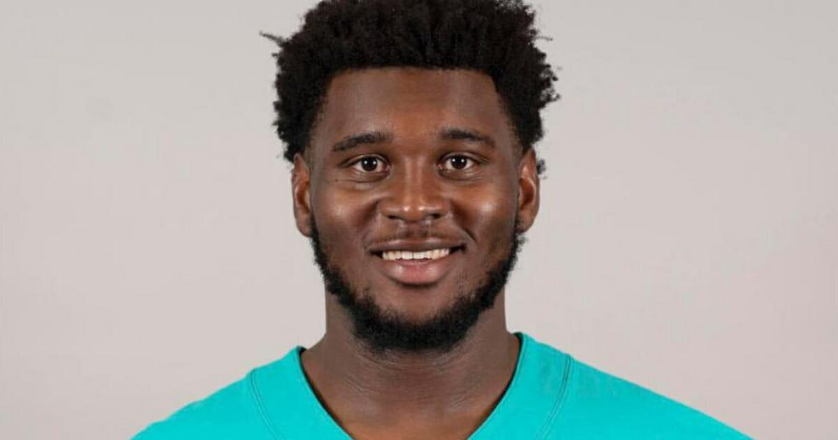Miami Dolphins defensive lineman Kendrick Norton.