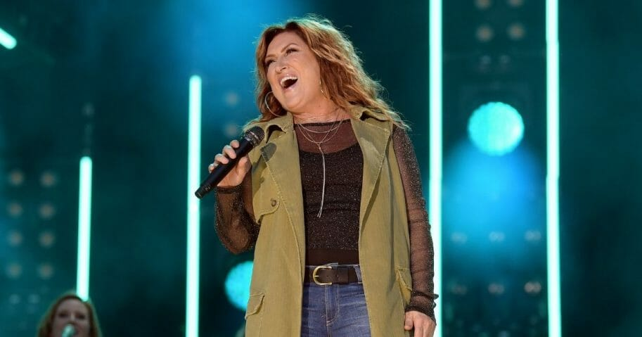 Jo Dee Messina performs on stage during day 2 for the 2019 CMA Music Festival on June 7, 2019, in Nashville, Tennessee.