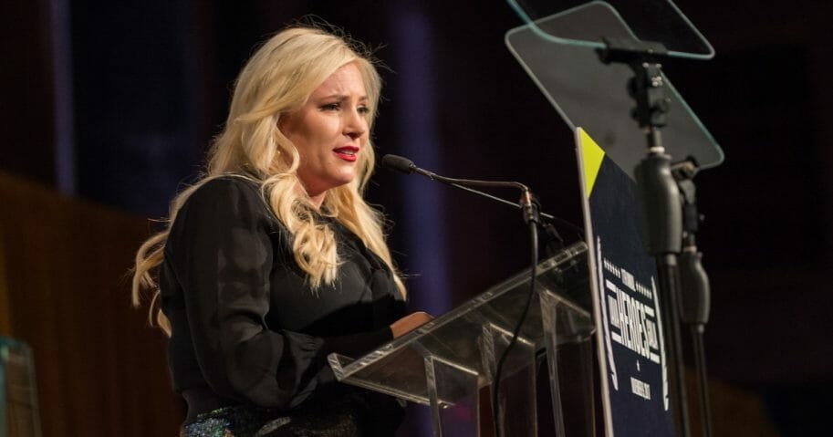 Meghan McCain attends the 11th Annual IAVA Heroes Gala at Cipriani 42nd Street on Nov. 9, 2017 in New York City.