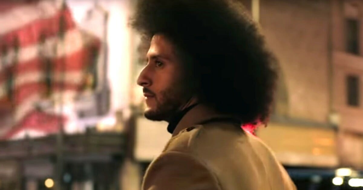 """Former NFL quarterback and national anthem protester Colin Kaepernick appears in Nike's """"Dream Crazy"""" ad."""