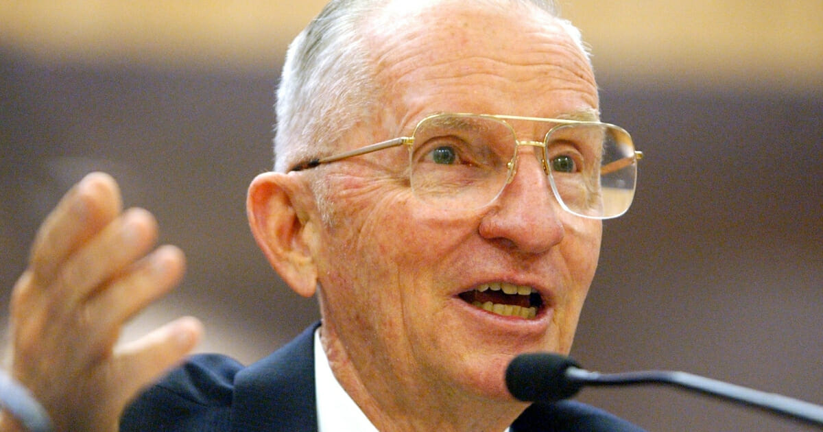 Former U.S. presidential candidate Ross Perot.